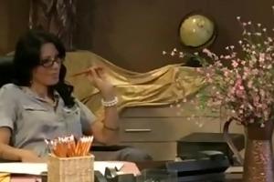 sex on her desk
