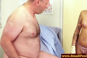 sph treament for obese lousy dude and his petite