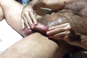 curly dad spank