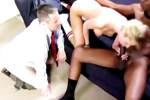 kaylee rides black weenie in front of daddy