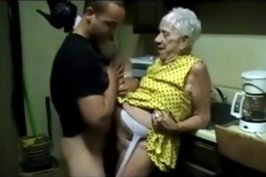old granny receives fucked by a youthful guy