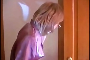 mom catches her son jerking in washroom