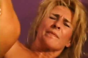 slutty aged woman fucking a younger lad