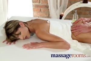 massage rooms juvenile diminutive teen has deep