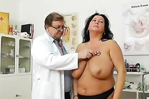 adult toy in slit during a wife gyno