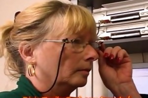 mother i secretary gets office fuck