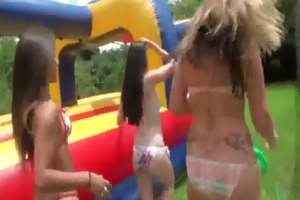 sexy teen college sweeties have a fun hardcore