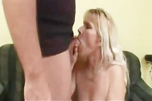 blond mama and guy - 1