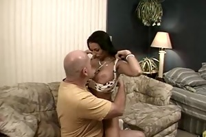 hawt shaved dad bags one more young bimbo