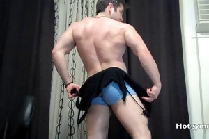 young muscle stud comes
