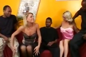 chelsea zinn - milfs group-fucked by dark boyz