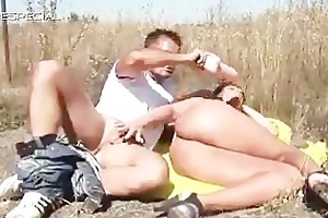 horny milf acquires fucked hard outdoor free part2