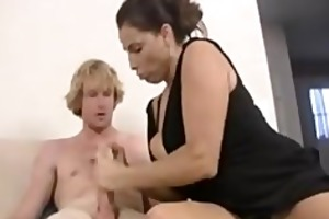 mama and not her daughter share dick