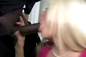 mom and daughter share black cock