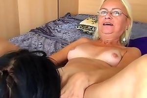 hot juvenile hotty licks and fucks granny