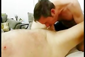 biug bear cock gets sucked off