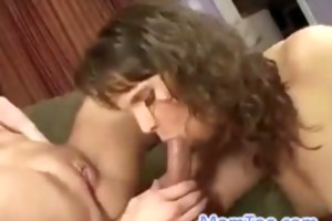 hot milf and juvenile teen daughter love having