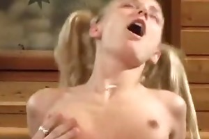 youthful daughter drilled hard