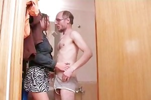 old lad with small dick fucks teen girl