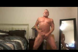 dad jerk and cum