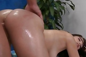 cute 18 year old beauty acquires drilled hard