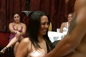 sexy young girls engulfing cock