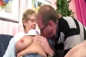 shy older overweight woman acquires very horny