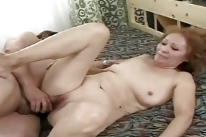 very old bitch getting gangbanged by her hubby