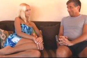 old males longing for erica fontes, a sexy blond