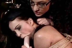 juvenile mistress punishing her sex serf