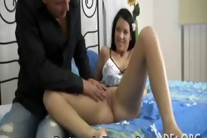 virgin girl sucks a cock