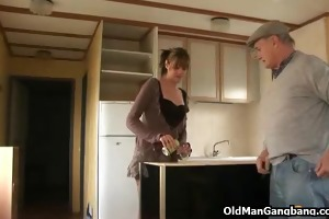 spouse copulates wife with papy