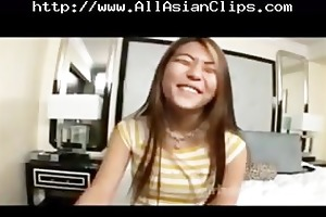 oriental gobbler taking a hard wang asian