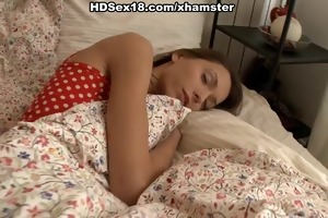 hard anal sex with a young brunette