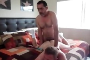 bearded daddy fucks his lover in the arse 4 part2