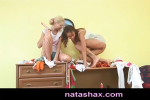 natasha shy and girlfriend masturbating