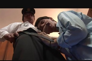 slutty daddy cop fuck kinky gay twink